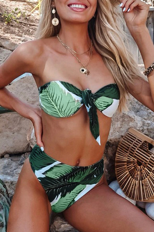 Venidress Trendy Print Two-piece Swimwears