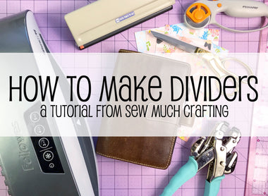 How to Make Planner Dividers