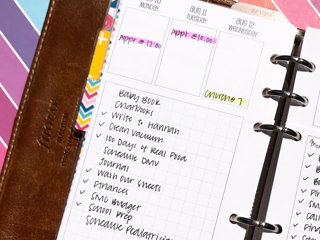Setting Up Your Planner for a Great Year