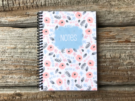 Pocket Full of Posies Spiral Notebook