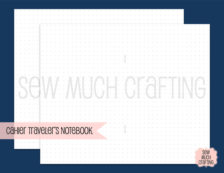 Dot Paper for Traveler's Notebooks