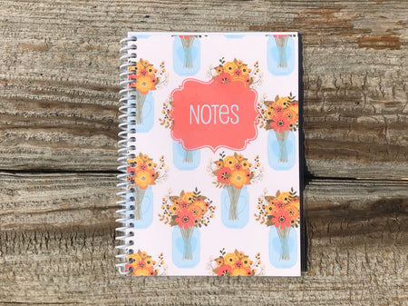 Rustic Fall Spiral Notebook