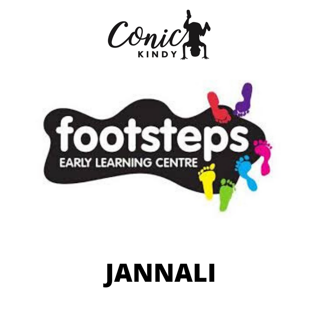 CONIC KINDY PROGRAM  - FOOTSTEPS JANNALI