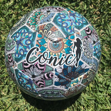 Conic playful soccer