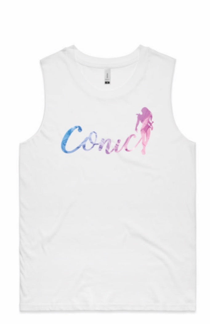 Conic Girls White Soul logo Tank