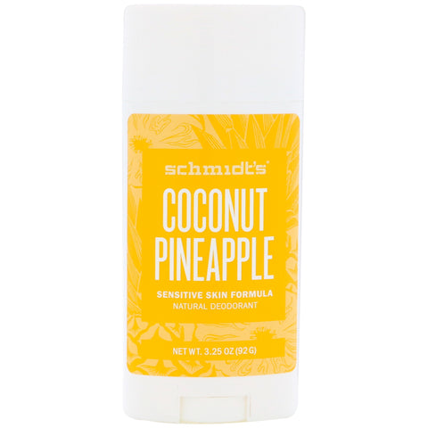Schmidts: Coconut Pineapple  Deodorant - large