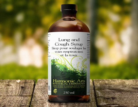 Harmonic Arts: Lung & Cough Syrup 100ml
