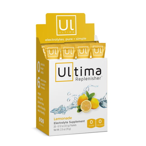 Ultima Replenisher Electrolyte Powder - lemonade - 20 STICKS