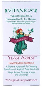 Vitanica:Yeast Arrest 28 suppositories