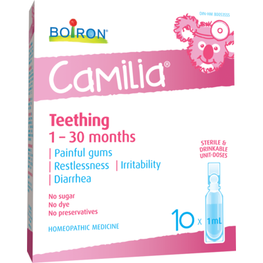 Boiron: Camilia Teething  Homeopathic - 10 x1ml