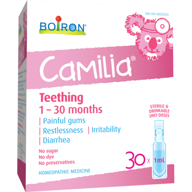 Boiron: Camilia Teething  Homeopathic - 30 x 1ml