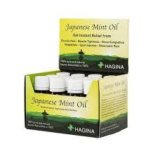 Hagina: Japanese Mint Oil - 20ml