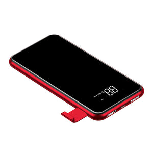 Qi Wireless Battery Power Bank for iPhone