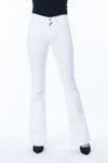 Flare White Pants