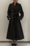 Double A Line Wool Coat