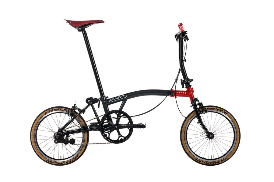 Brompton - Folding Bicycle CHPT-3 S6E Edition