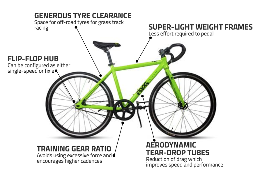 Frog Bikes Track - Treadly Bike Shop