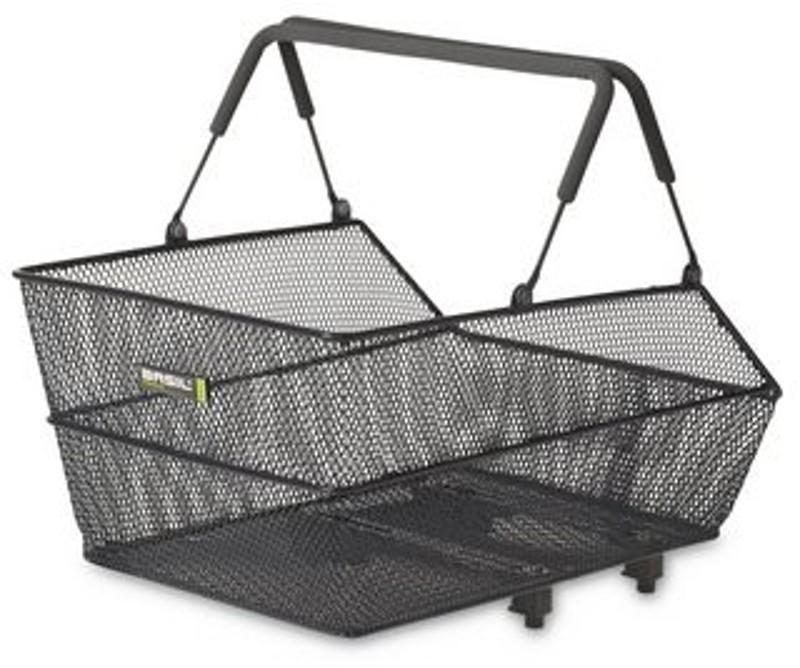 Basil - Cento Rear Basket Basimply Black