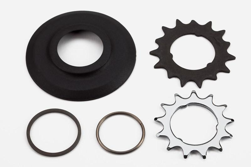 Brompton Sprocket & Disc Set 13/15T 3/32 to suit SRAM 6 Speed
