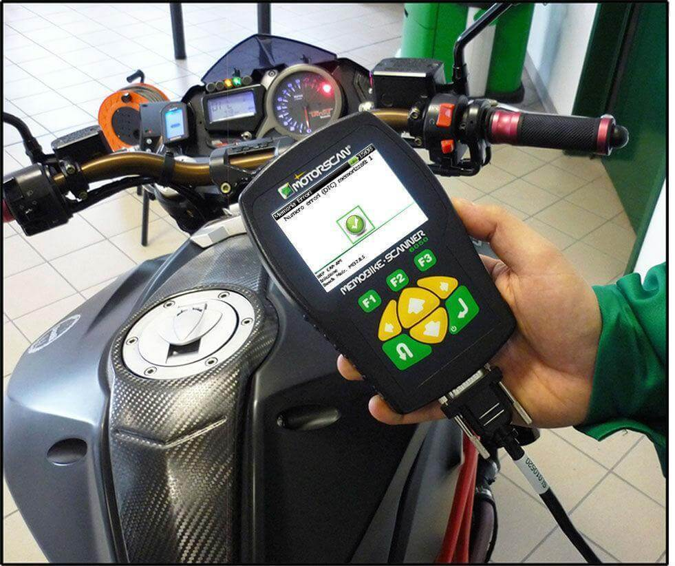 Universal Motorcycle & ATV Diagnostic Scanner Master Kit (MS6050DMM ) - ANSED Diagnostic Solutions LLC