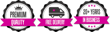 Premium Quality, Free Delivery, 20+ Years in Business