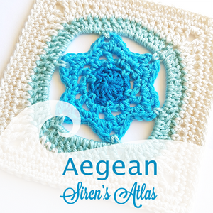 Aegean from Siren's Atlas by Shelley Husband