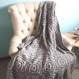 Beneath the Surface Crochet Blanket Pattern by Shelley Husband