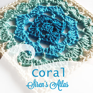 Coral from Siren's Atlas by Shelley Husband
