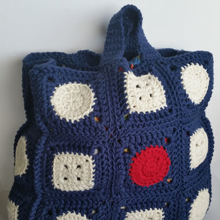 Crochet Block Bag Pattern by Shelley Husband