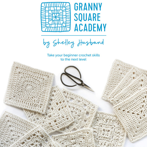Granny Square Academy book by Shelley Husband