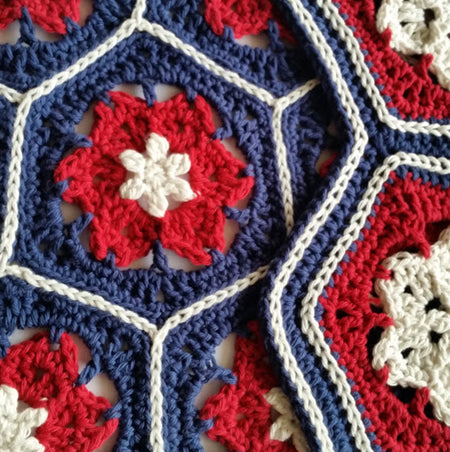 Hoya Hive Hexie Patterns by Shelley Husband