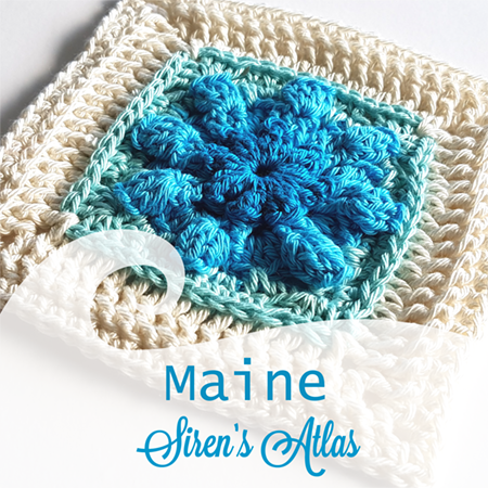 Maine from Siren's Atlas by Shelley Husband