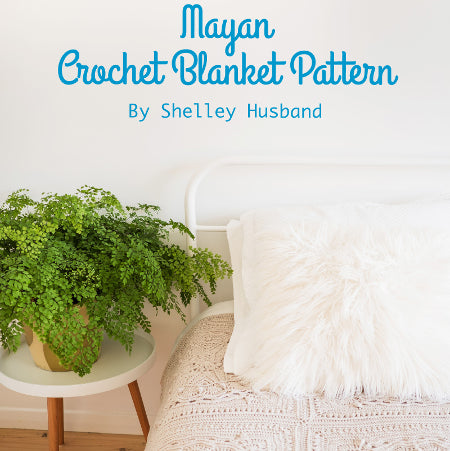 Mayan Crochet Blanket Pattern by Shelley Husband