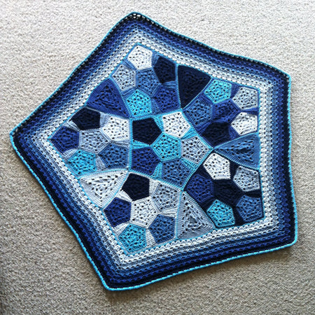 Pentagranny Baby Blanket by Shelley Husband