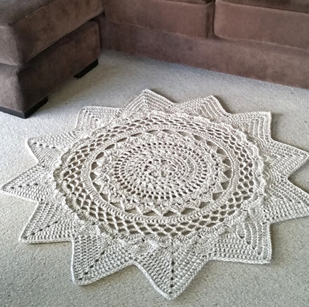 Radiance Floor Rug by Shelley Husband