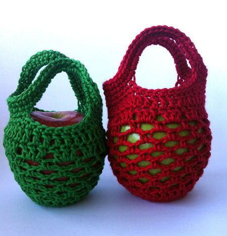 Mini Crochet Gift Bags by Shelley Husband