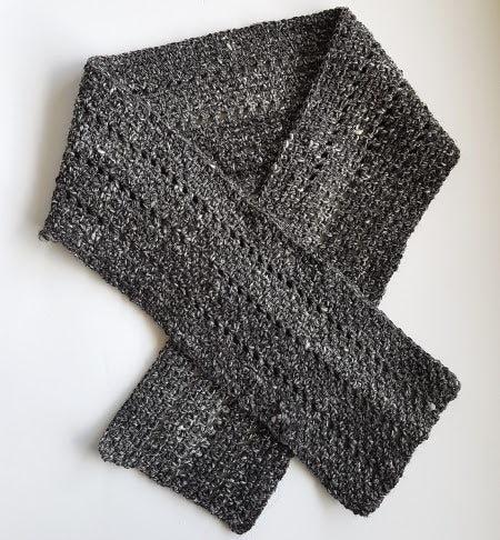 Salt and Pepper Scarf by Shelley Husband