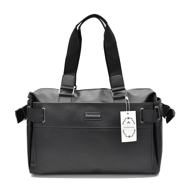 Large Capacity PU Leather Bag