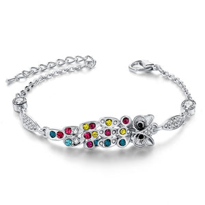 Crystal Setting Adorable Bracalet