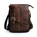 Crazy Retro Natural Leather Shoulder Bag
