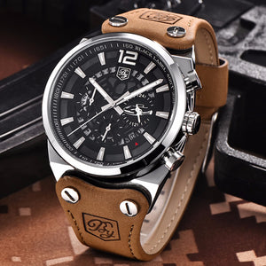 "Modern Men's Watch ""The Golfur"""