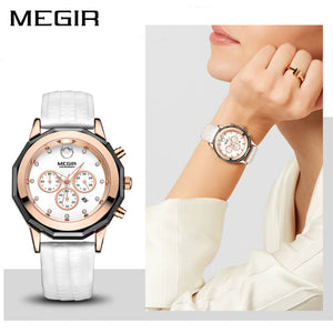 Fashion Quality Woman's Watch in White