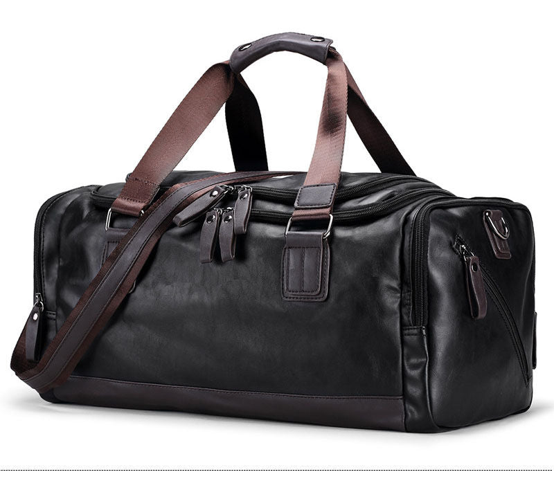 Baller Leather Gym/Travel Bag