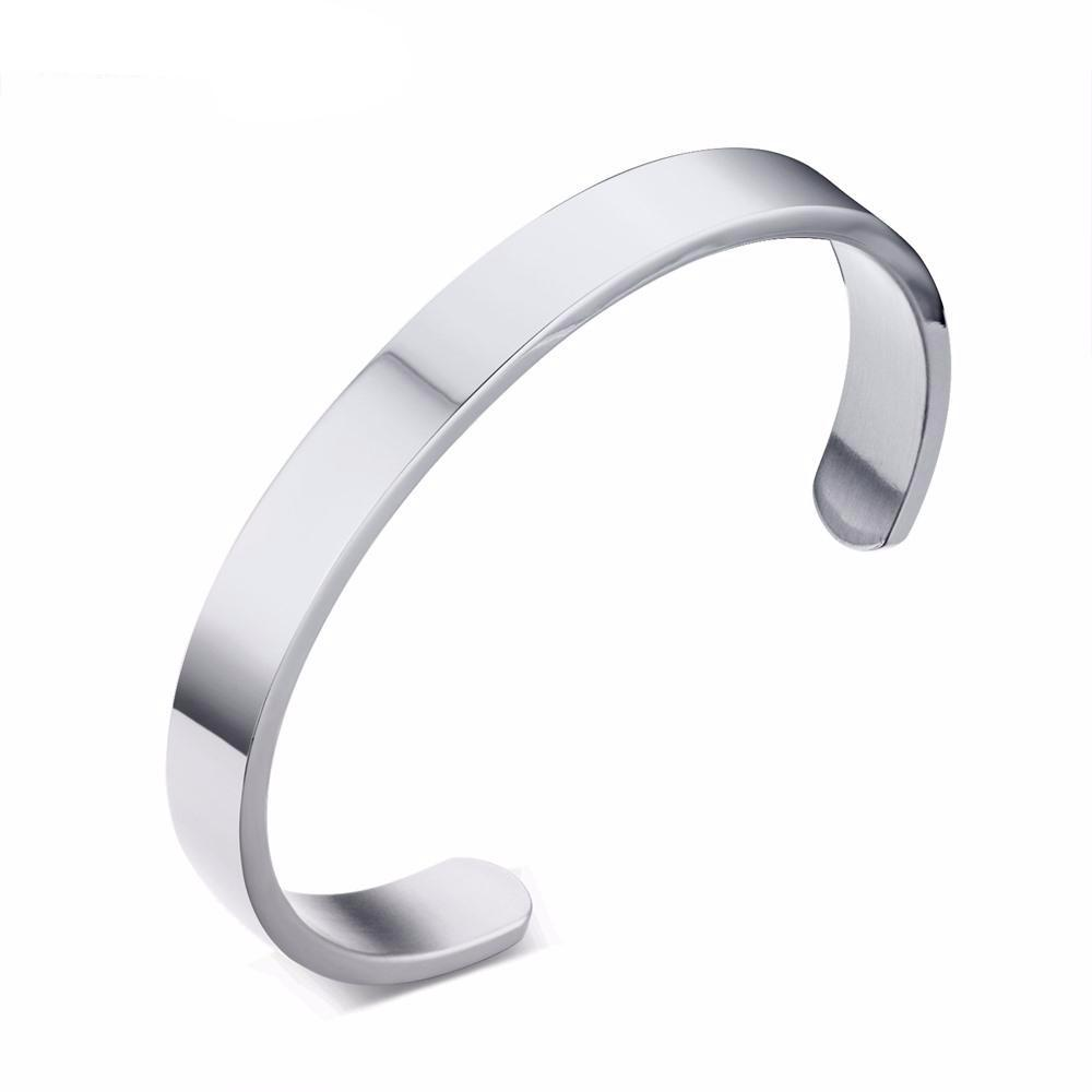 Male Bangle Stainless Steel