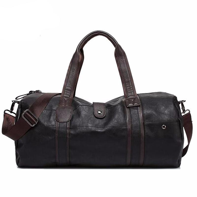 PU Leather Gym Bag