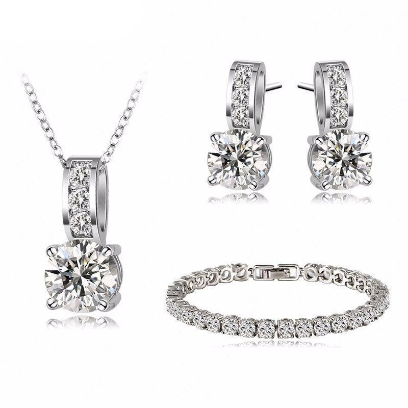Latina Sparkle Jewelry Set