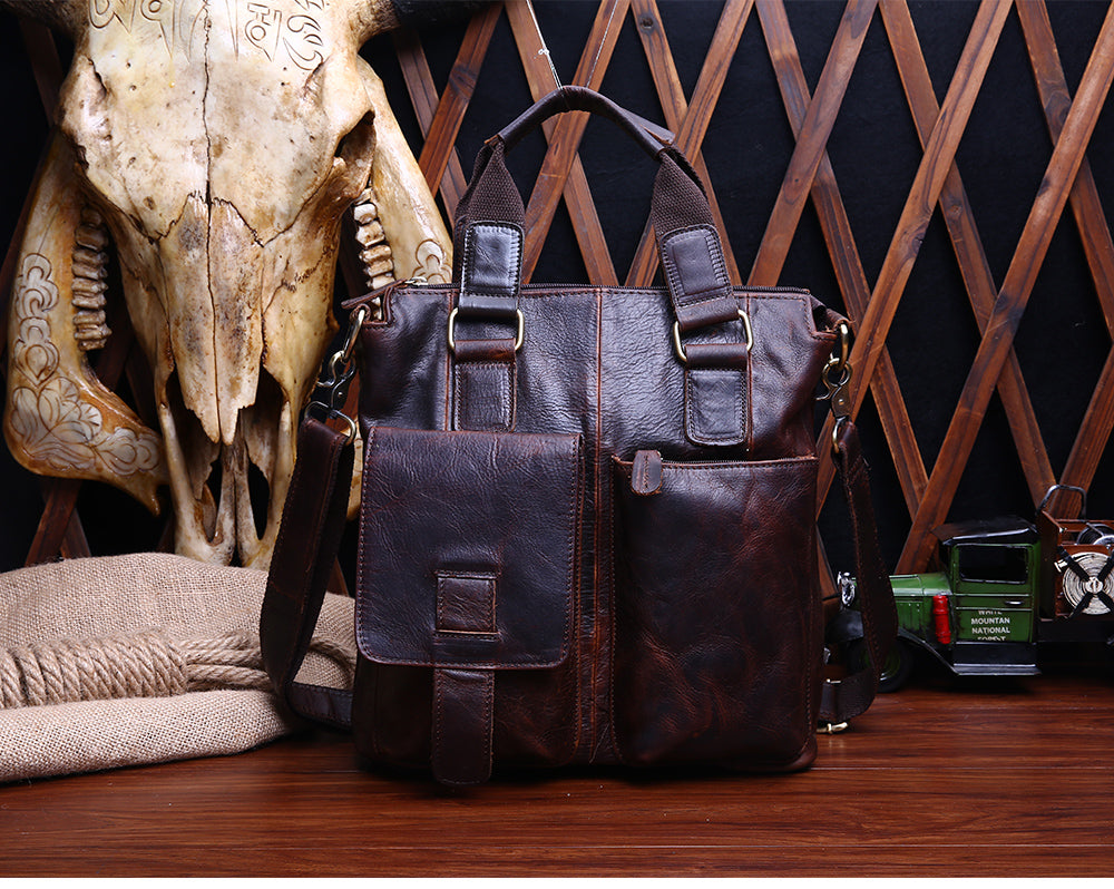 Crazy Horse Genuine Leather Bags