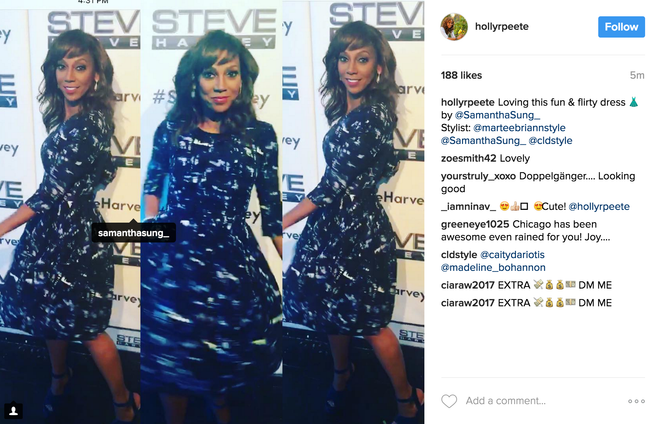 """Chicago Fire"" Actress Holly Robinson Peete Posts & Tags Samantha Sung on Instagram"