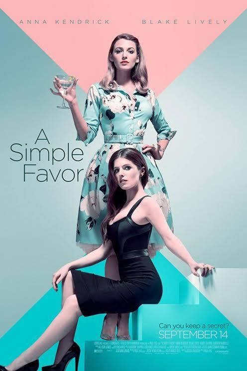 WOW!!! Blake Lively wear Samantha Sung Dress in A Simple Favor released in September 2018