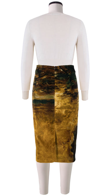 Chloe Skirt Velveteen (Autumn Wind)